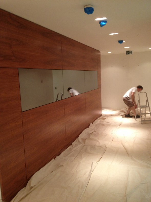 Office Redecoration, Central London