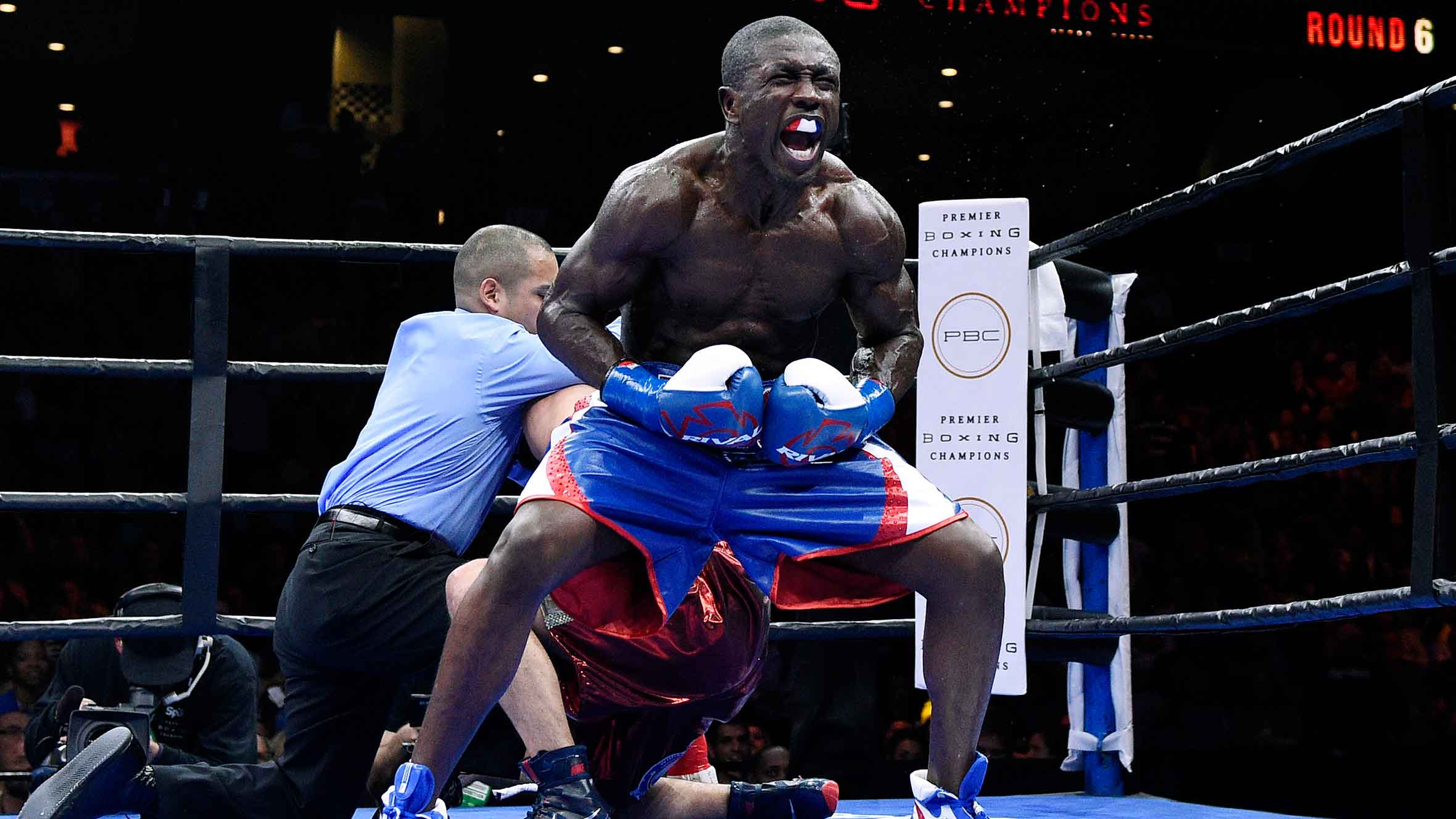 Andre Berto - an outstanding American boxer with a touching love for Haiti