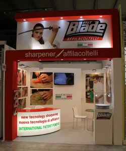 Allestimento Stand Fiera Milano HOST Stand FAST Blade