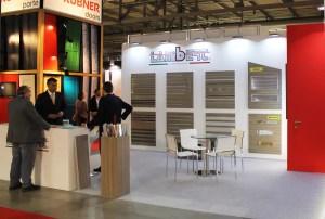Allestimenti fieristici Milano MADE EXPO Stand Lambert