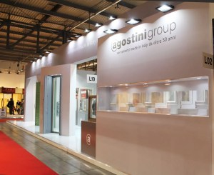Allestimenti fieristici Milano MADE EXPO Stand Agostini Group