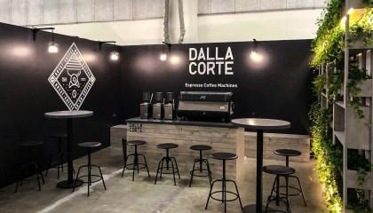 Allestimenti fieristici Milano Fiera MILAN COFFEE FESTIVAL Stand DALLA CORTE