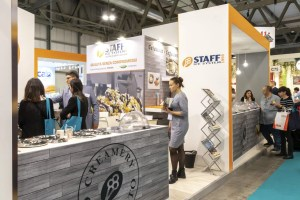 Allestimento Stand Fiera Milano HOST Stand Staff Ice System