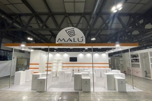 Allestimento di Stand Fieristici Fiera Milano HOMI Stand MALU BIJOUX