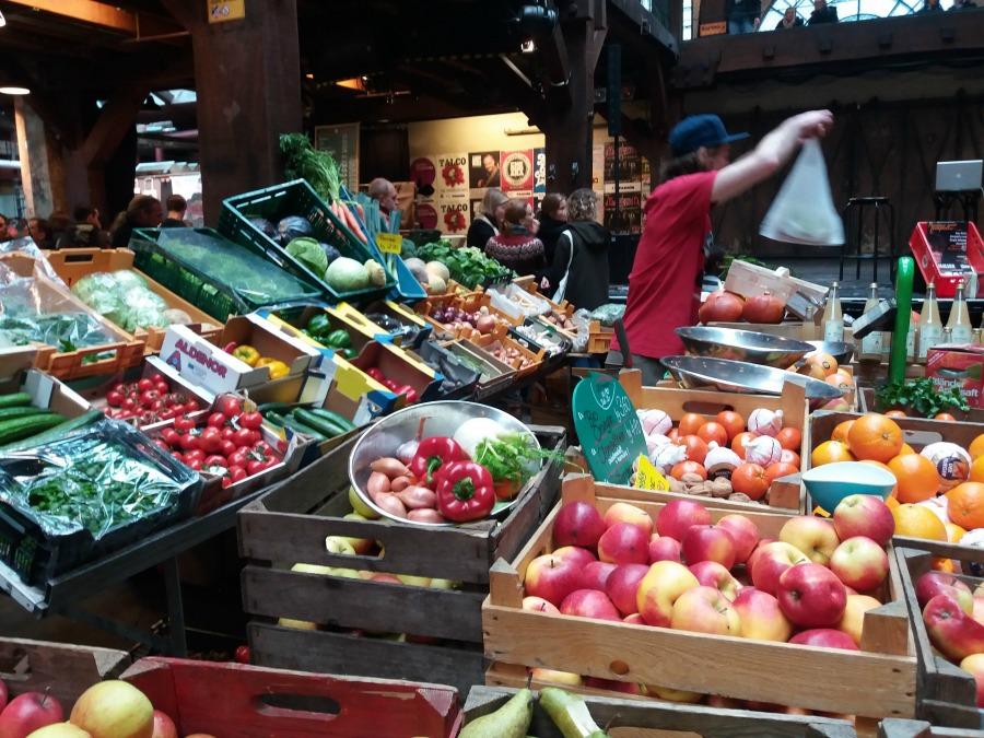 Herfsttip voor Hamburg: Marktzeit in der Fabrik