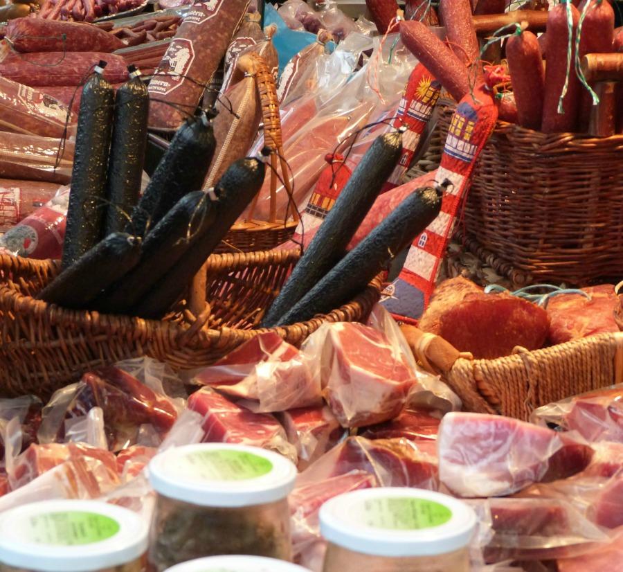 Wochenmarkt aan de Fischmarkt