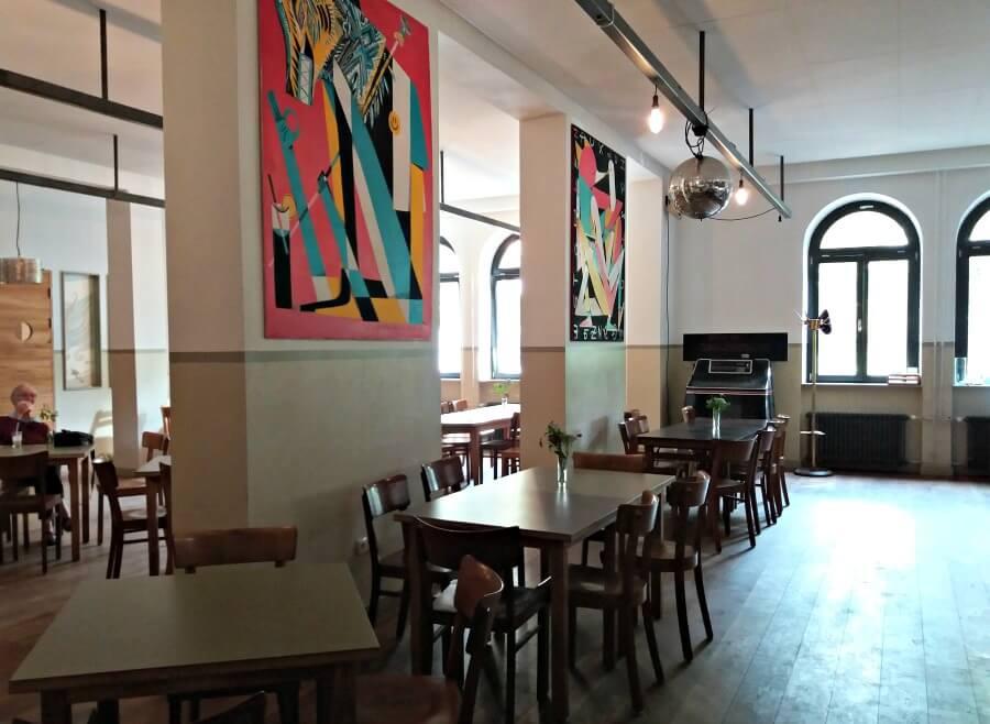 Café in Viktoria-Kaserne