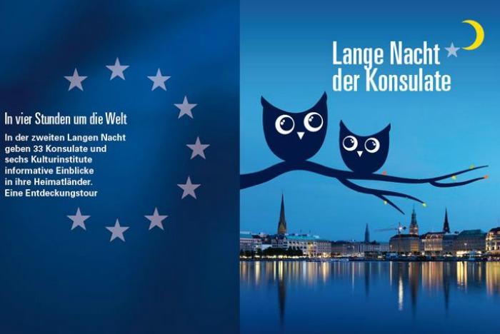 De Lange Nacht der Konsulate staat weer voor de deur - Standort Hamburg