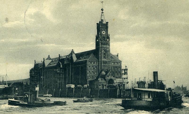 De bouw van de Elbphilharmonie: Kaispeicher A rond 1900 - Standort Hamburg