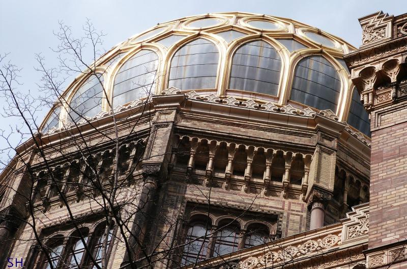 Neue Synagoge Berlin - Standort Hamburg