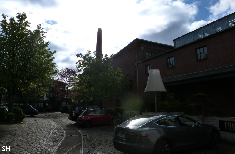 Ottensen Borselhof Eisenbahn - Standort Hamburg