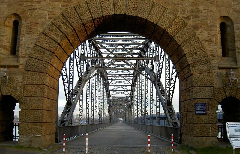Originele stedentrip Hamburg | Alte Harburger Elbbrücke | Standort Hamburg