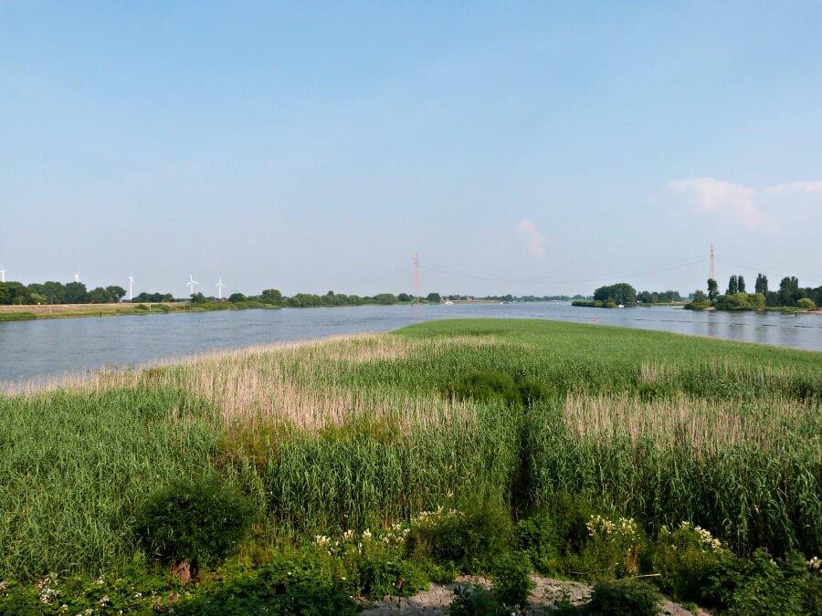 Blik op de Elbe