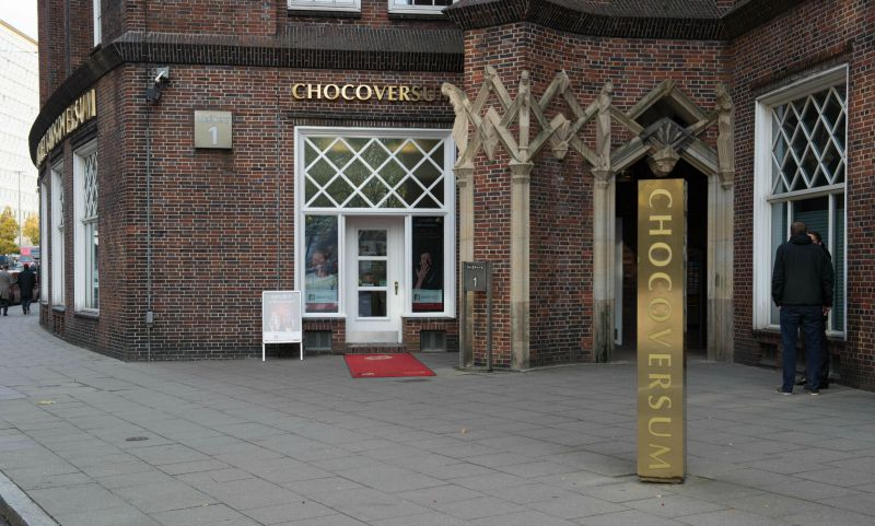 CHOCOVERSUM in Hamburg: entree