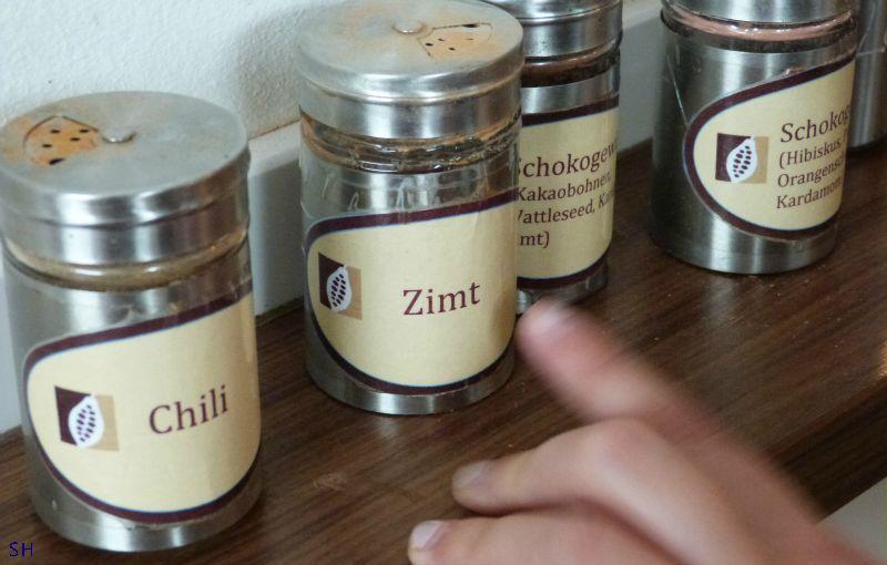 Chocolade de ingredienten Standort Hamburg