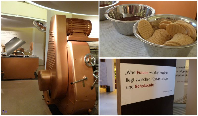 Chocolade - proces Standort Hamburg