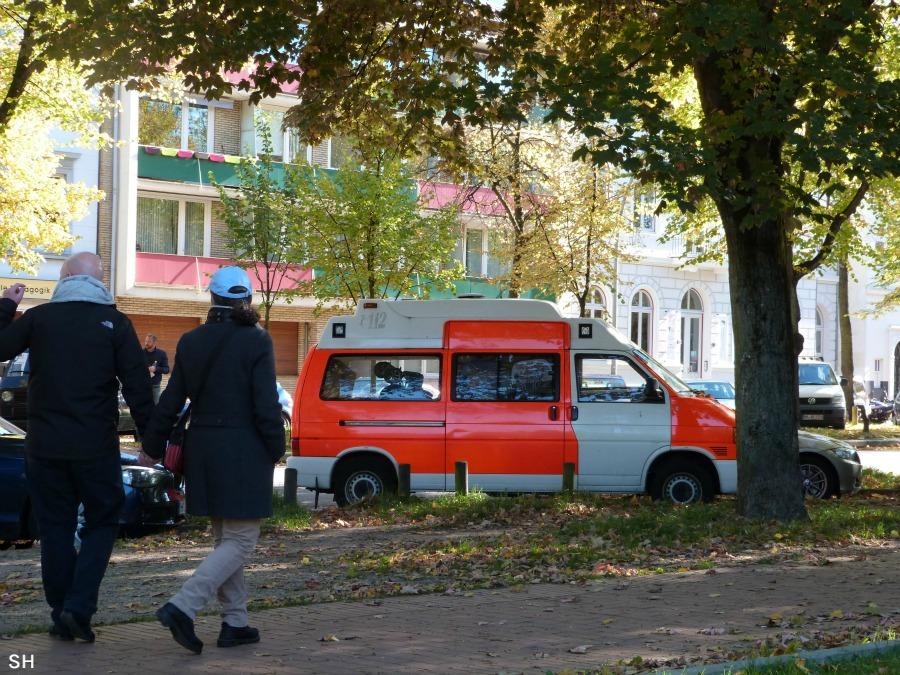 Ambulancebus - Standort Hamburg
