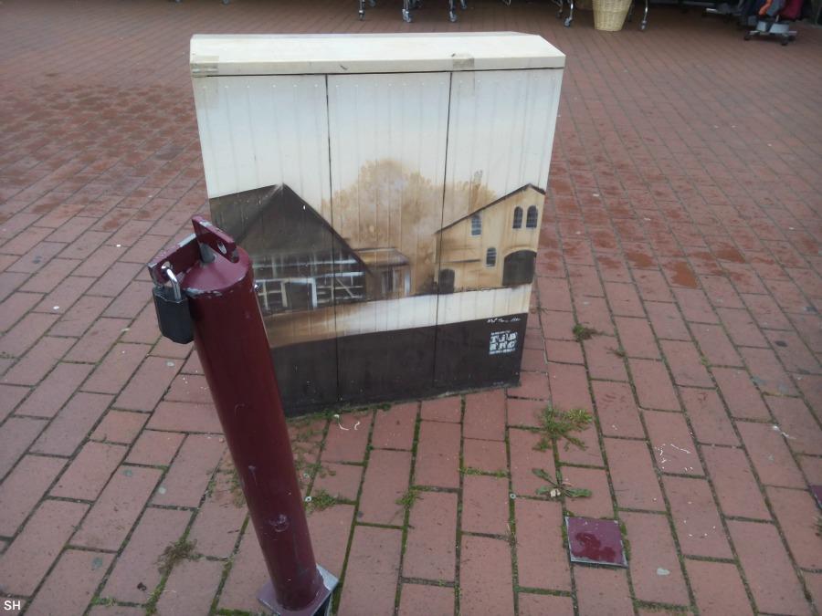 Niendorf Street Art Schulz 2 - Standort Hamburg