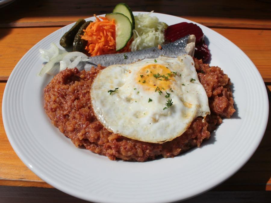 Typisch Hamburgse gerechten: Labskaus