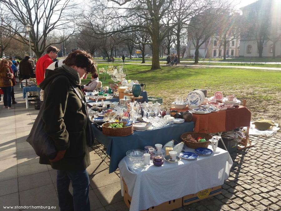 Flohmarkt in Hannover - Standort Hamburg