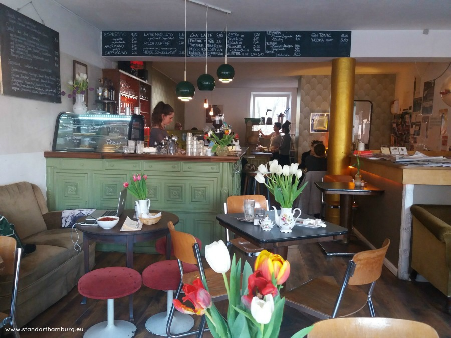 Kaffee und Kuchen in Hamburg - Kraweel St. Pauli- Standort Hamburg