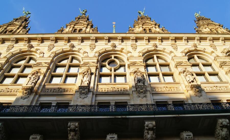 Gratis bekijken in Hamburg: Rathaus