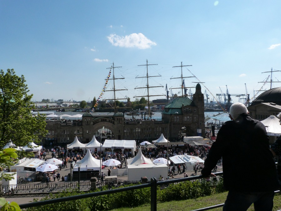 Het beste uitzicht tijdens de Hafengeburtstag | Standort Hamburg