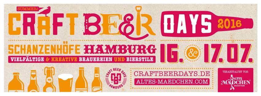Craft Beer Days - Zomerfestivals in Hamburg