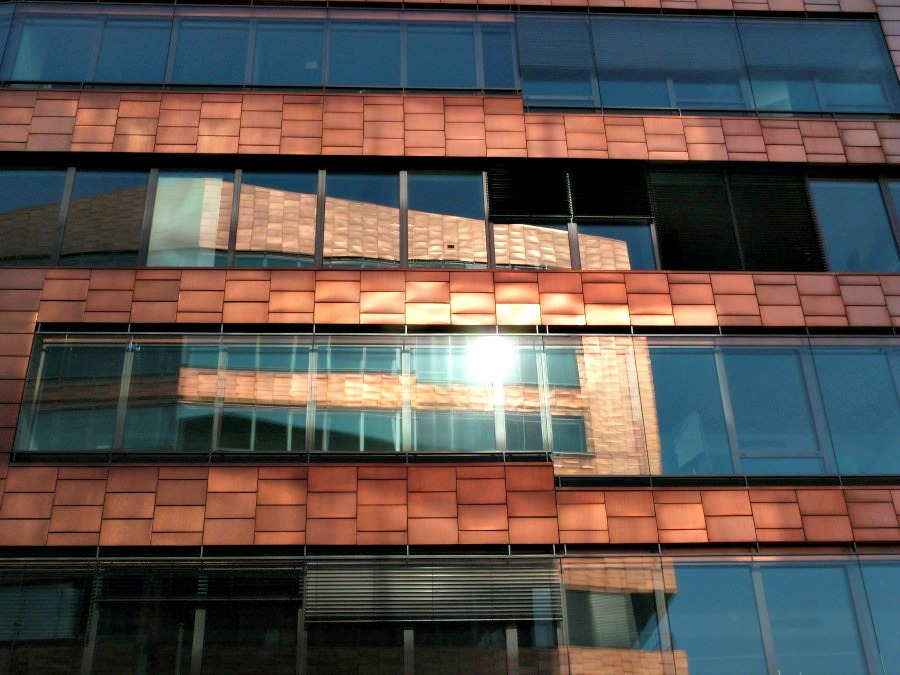 Moderne architectuur in Hamburg: Columbia Twins