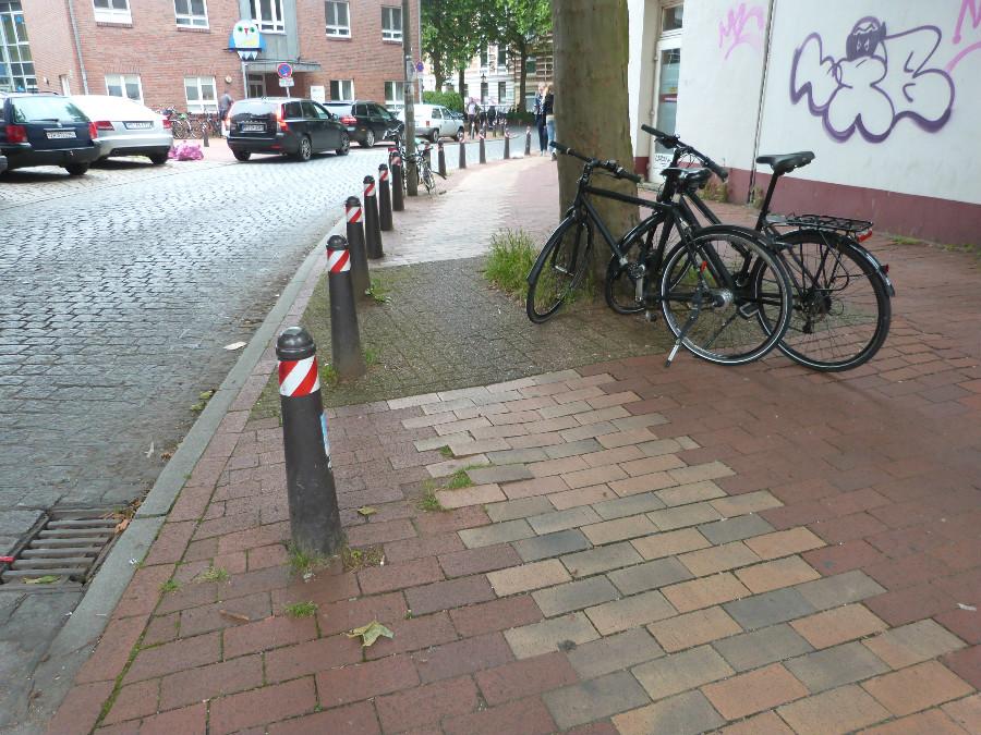 P1070573_Standort Hamburg_fietspaden in Hamburg