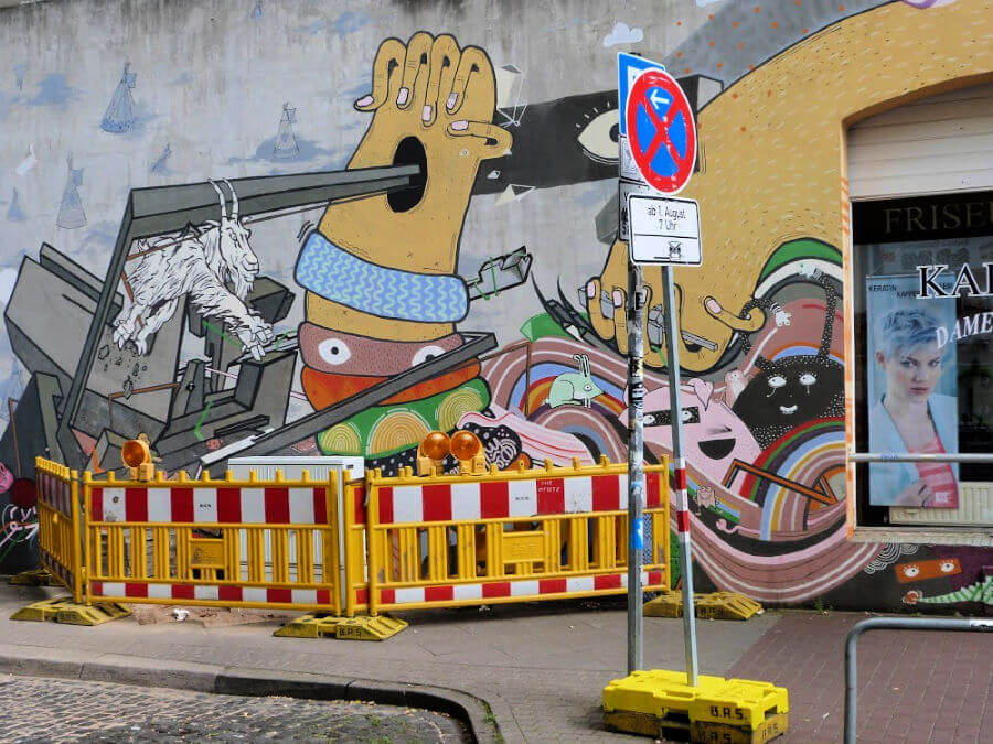 Street art in Hannover: stedentrip Hannover voor kunstliefhebbers