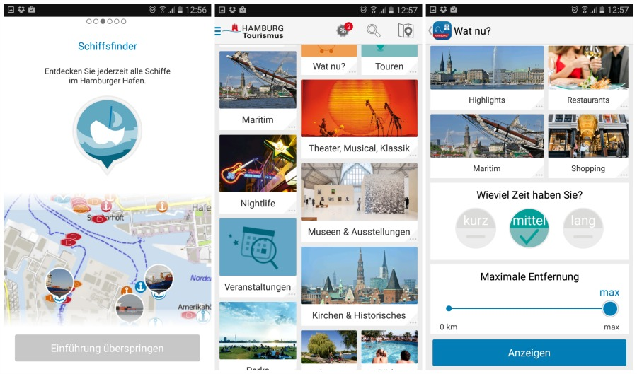 Hamburg app van Hamburg Tourismus
