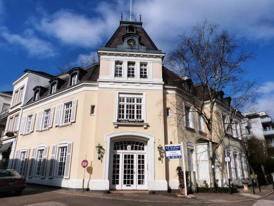 Architectuur aan de Alster: Altbau | Standort Hamburg