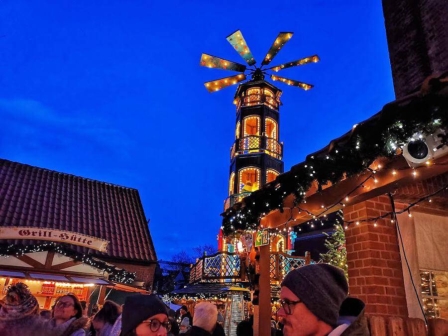 Dagtrip vanuit Hamburg: kerstmarkten in Lüneburg