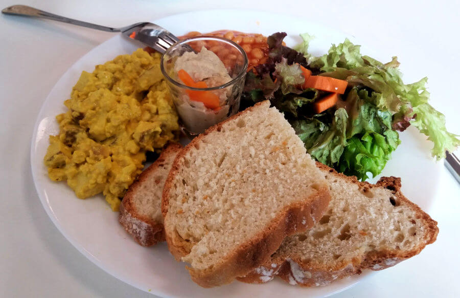 Katzentempel Hamburg: vegan ontbijten