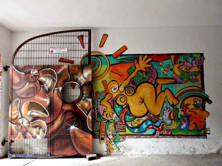 Street Art in Duitsland: Hamburg Ottensen