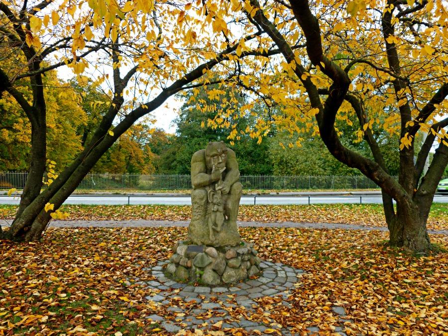 Herfst in Hamburg: wandelen in het Jenisch-Park