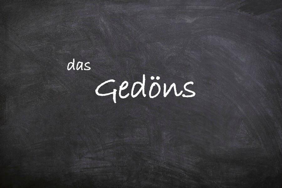 Favoriete Duitse woorden: das Gedöns