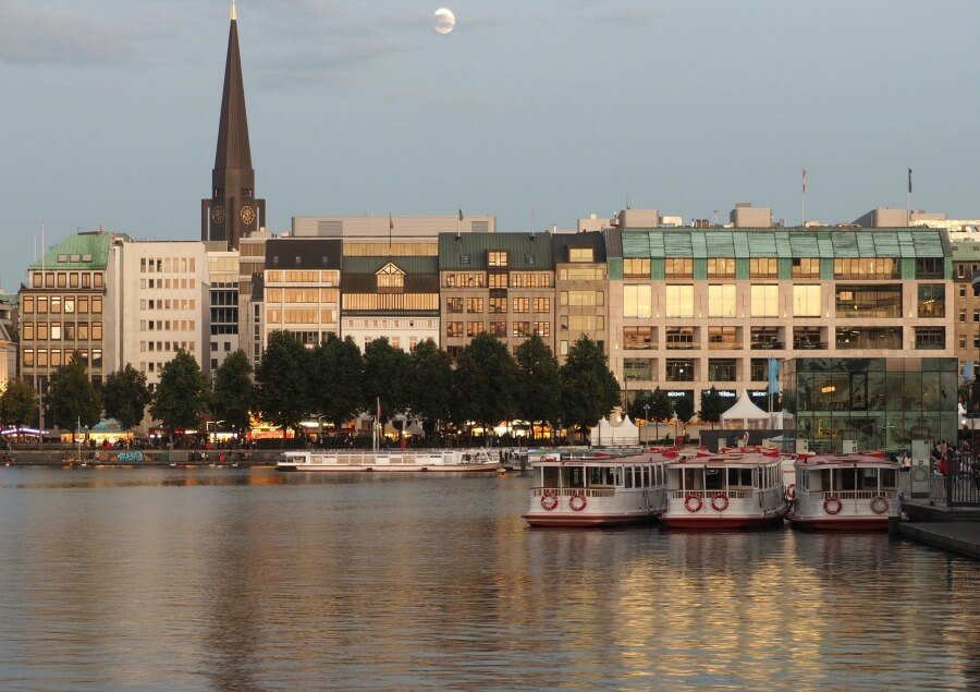Bezienswaardigheden Hamburg: Binnenalster | Standort Hamburg