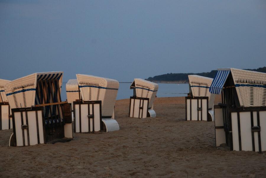 Oud en nieuw aan de Duitse kust: in een Strandkorb op Rügen