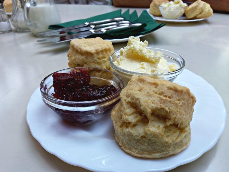 Eten in Hamburg: scones!