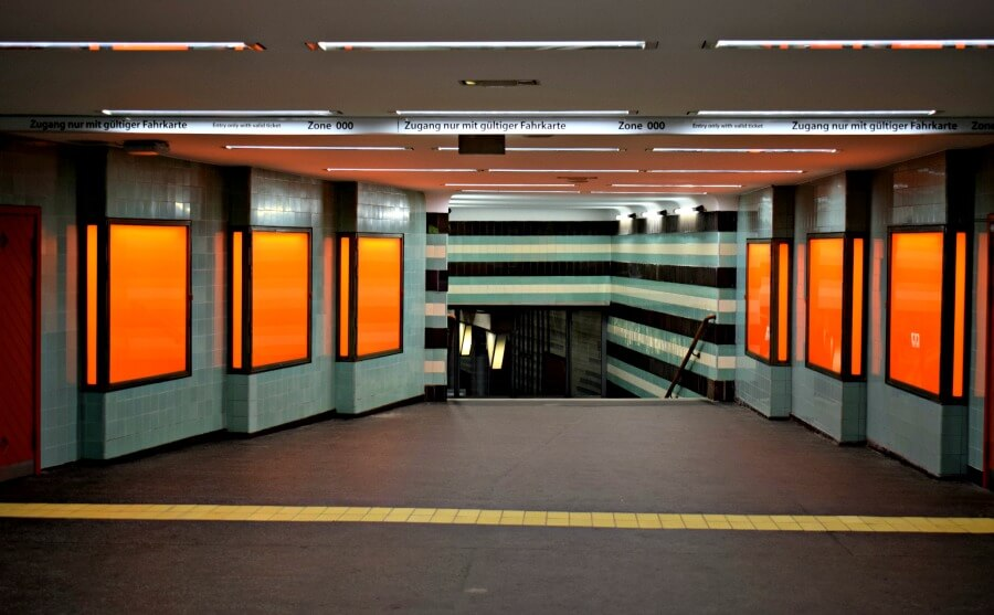 5x fotogenieke stations in Hamburg: Klosterstern