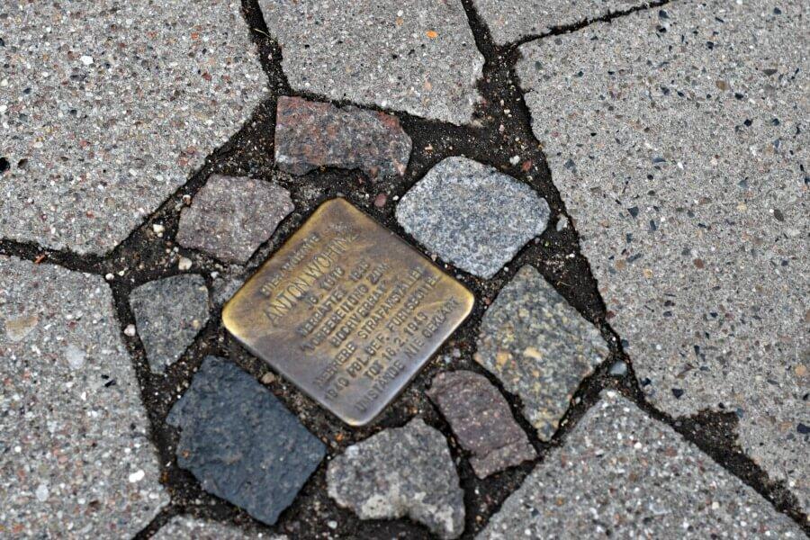Stolperstein voor Anton Wohinz, Altona