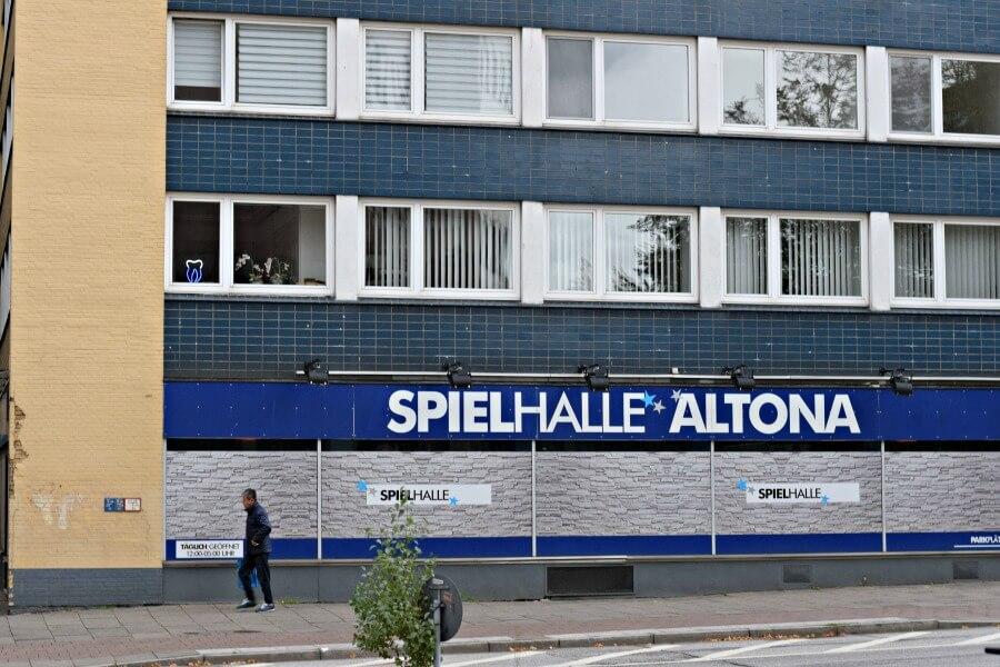 Stolpersteinesuche in Hamburg - Jessenstraße Altona