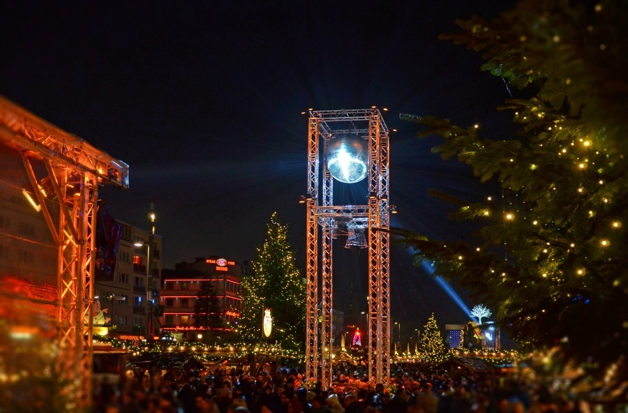 Kerstmarktenroute door Hamburg: Santa Pauli