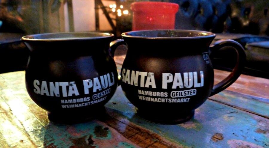 Hamburg met kerst: Glühwein op Santa Pauli