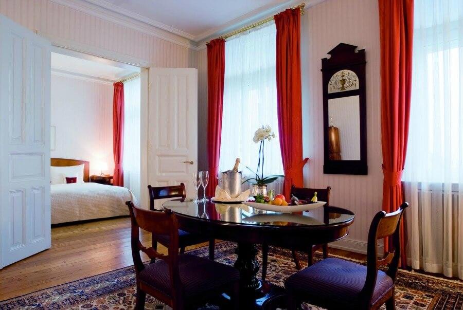 5-sterrenhotels in Hamburg: Louis C. Jacob, met uitzicht op de Elbe