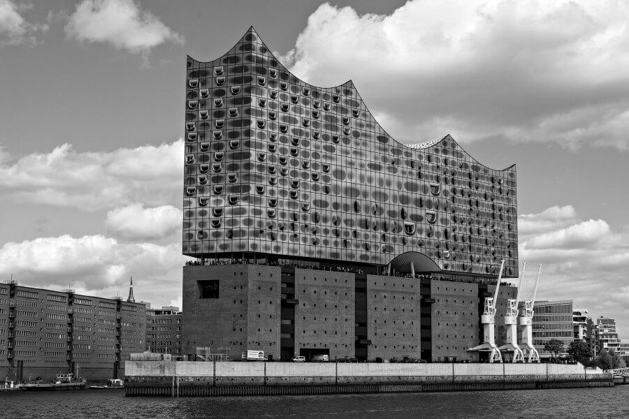 Het nieuwe concertgebouw van Hamburg: de Elbphilharmonie