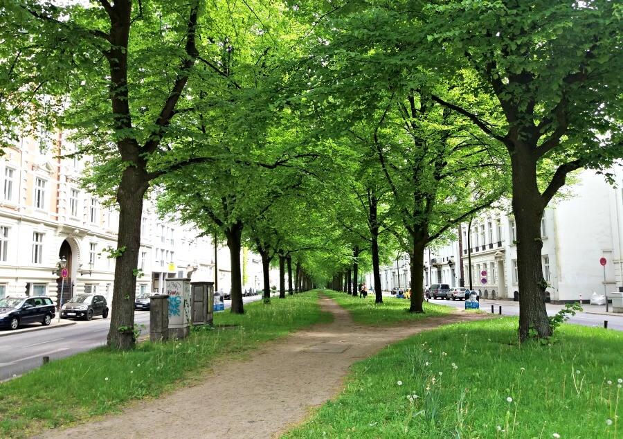 Bijzondere straatnamen in Hamburg