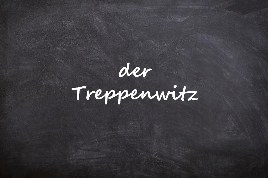 Mooiste Duitse woorden van dit jaar: Treppenwitz